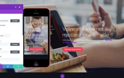 Interface visuelle WordPress