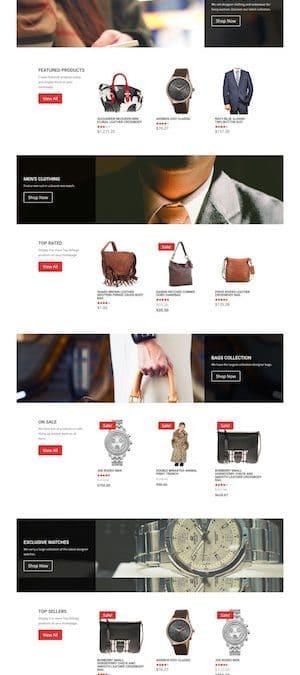 Modèle de site – Candy Shop